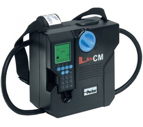 Parker LCM20 Portable Hydraulic Fluid Particle Counter