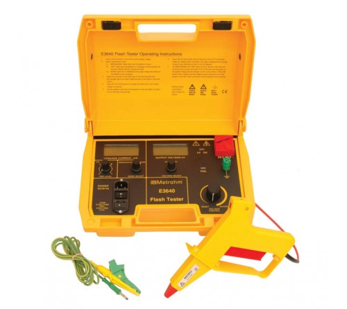 Martindale Metrohm E3640 4kV Flash Tester