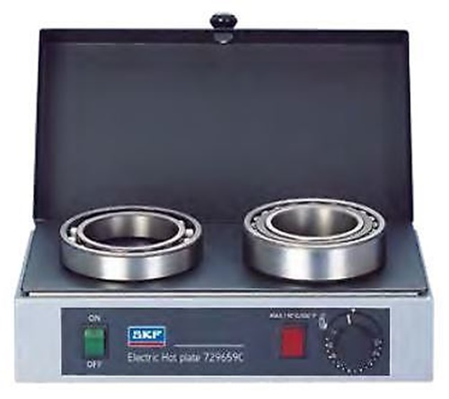 SKF 729659C/230V Electric Hotplate Bearing Heater for up to 4kg Bearings