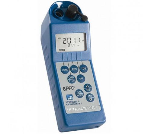 Myron L 6PIIFCE Conductivity, Resistivity, TDS, pH, ORP/Free Chlorine, Temperature Meter