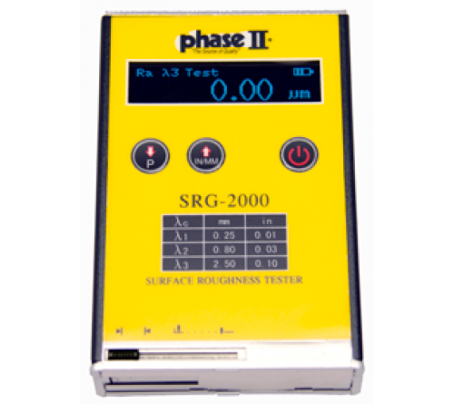 Phase II SRG-2000 Pocket-Sized Portable Surface Roughness Tester Profilometer