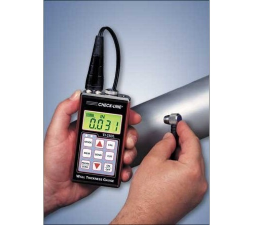 CheckLine TI-25DL General Purpose Datalogging Ultrasonic Wall Thickness Gauge