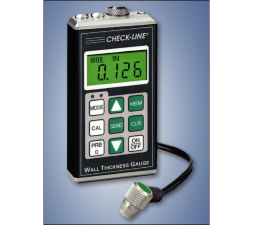 "CheckLine TI-25DL-MMX General Purpose Datalogging Through-Paint to 1"" Wall Ultrasonic Wall Thickness Gauge"