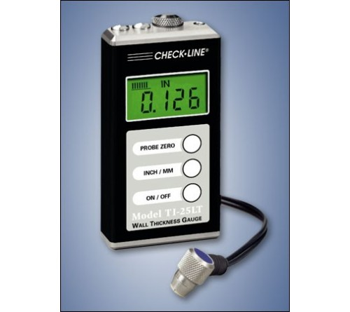 CheckLine TI-25LT Economical Steel Only Ultrasonic Wall Thickness Gauge