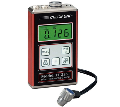 CheckLine TI-25P Programmable Ultrasonic Wall Thickness Gauge