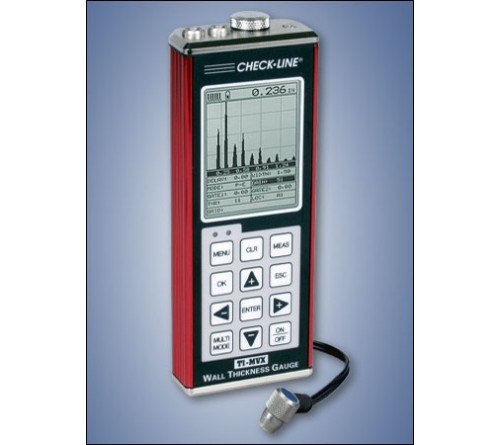 CheckLine TI-MMX-SDL Datalogging B-Scanning Ultrasonic Wall Thickness Gauge