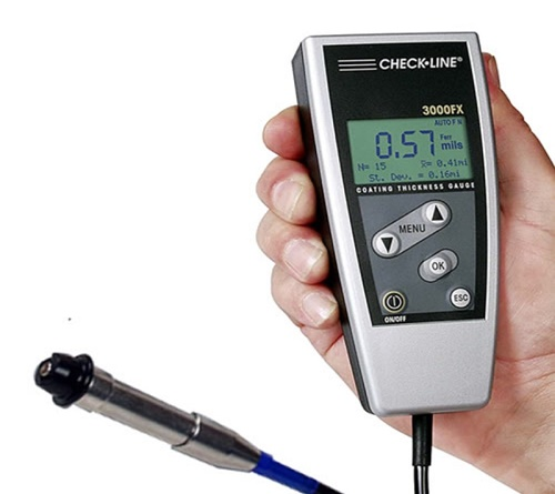 CheckLine DCN-3000FX Non-Ferrous Coating Thickness Gauge