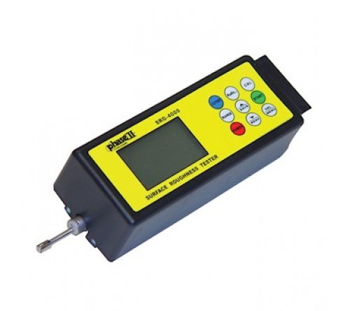 Phase II SRG-4000 Portable Surface Roughness Tester Profilometer with 4 Roughness Parameters