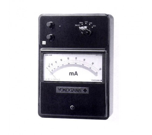 Yokogawa 201601 High Frequency Ammeter, 5/10/20/50 mA; DC, 10 Hz to 5 MHz