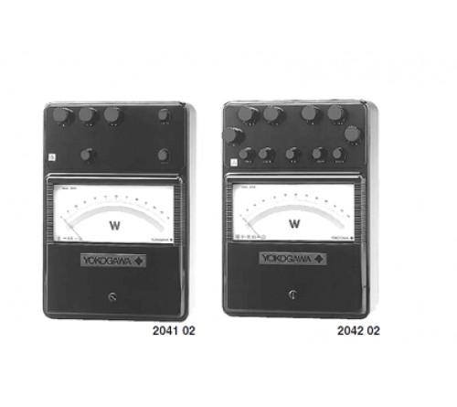Yokogawa 204102 Analog Portable Wattmeters