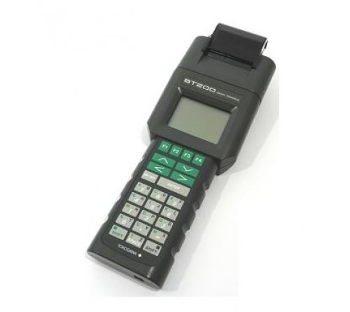 Yokogawa BT200-P-00 Brain Protocol Handheld Terminal with printer