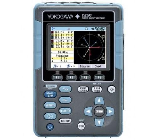 Yokogawa CW500-B0-D Power Quality Analyzer with no Bluetooth function